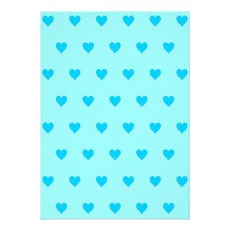Color de fondo Editable - modelo azul del corazón Comunicado