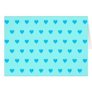 Color de fondo Editable - modelo azul del corazón Felicitación