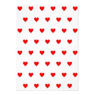 Color de fondo Editable - modelo rojo del corazón Comunicados