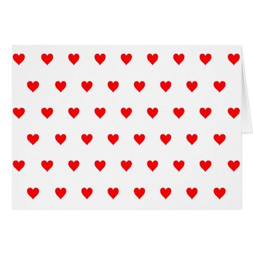 Color de fondo Editable - modelo rojo del corazón Felicitación