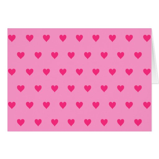 Color de fondo Editable - modelo rosado del corazó Tarjeta