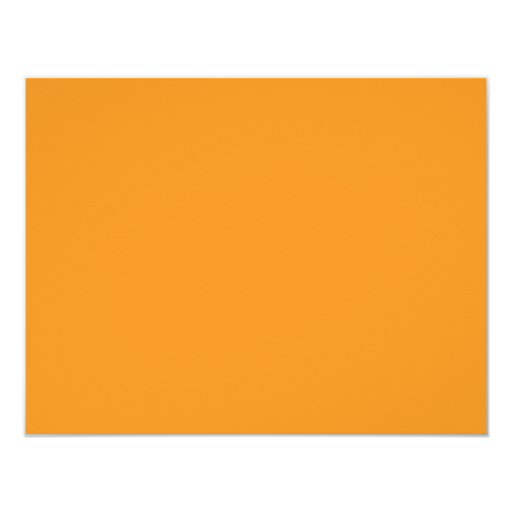 Color de fondo - naranja invitacion personalizada