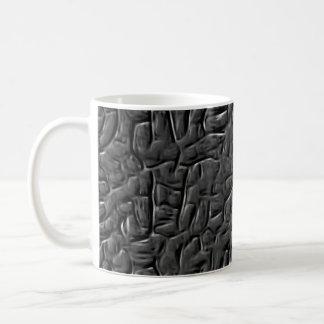 Color de la pared de piedra cuantificado taza de café