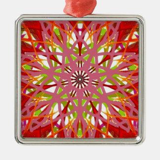 Color de malva lunes de la mandala ornamentos para reyes magos