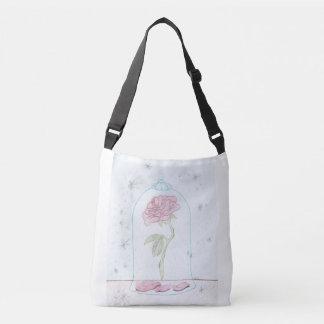 Color de rosa encantada bolso cruzado