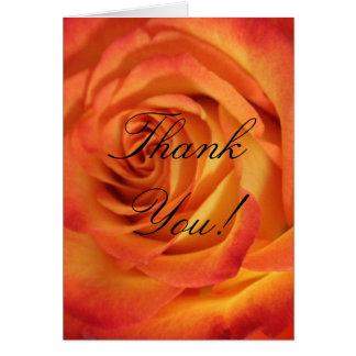 Color de rosa exquisito amarillo llameante del tarjeta de felicitación