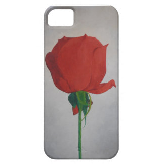 Color de rosa funda para iPhone SE/5/5s