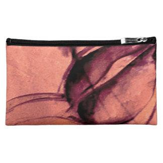 Color de rosa/melocotón - bolso cosmético medio