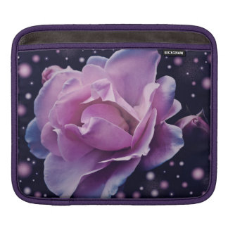 color de rosa púrpura elegante elegante hermoso de funda para iPad