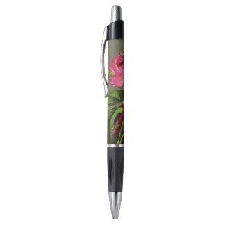 Color de rosa rosado del vintage bolígrafo