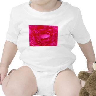 Color de rosa rosado trajes de bebé