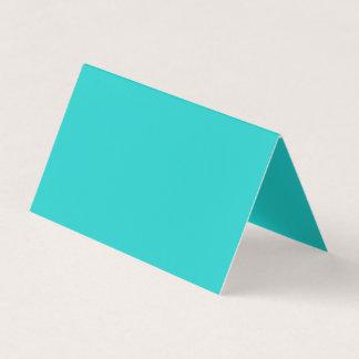 Color del azul del huevo del petirrojo natural tarjeta de visita