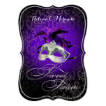 ¡Color del dulce 16 Masquerade/DIY de PixDezines Invitacion Personal