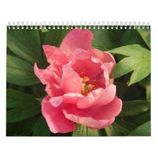 Color del en del de Flores del fotografía de la Calendarios De Pared