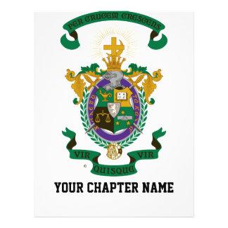 Color del escudo de armas de LCA Tarjeton
