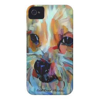 Color del estallido bah funda para iPhone 4 de Case-Mate