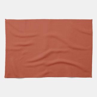 Color del ladrillo del desierto toalla de cocina