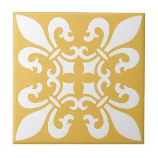 Color francés del personalizable del modelo de la azulejo cuadrado pequeño