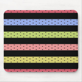 Color-Happy_Stripes (c) Multi_Colored_ Alfombrilla De Ratón