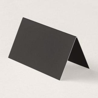 Color negro principal hermoso tarjeta de visita