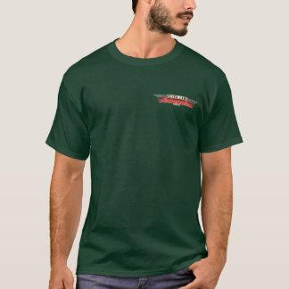 Color retro T de Autoworks del carril Camiseta