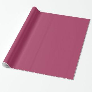 Color rosado oscuro 1 papel de regalo