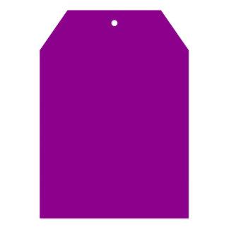 Color sólido violeta invitación