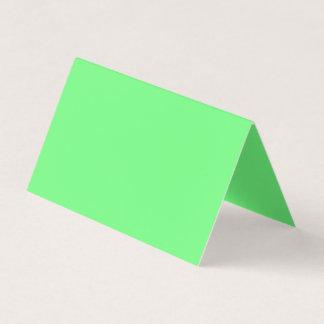 Color verde G07 Tarjeta De Visita