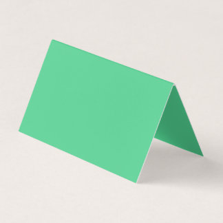 Color verde galantemente abundante tarjeta de visita