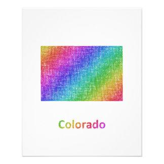 Colorado Folleto 11,4 X 14,2 Cm