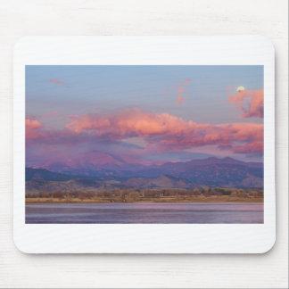 Colorado Front Range desea salida del sol máxima d Tapetes De Raton