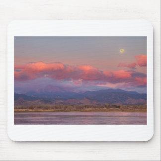 Colorado Front Range desea salida del sol máxima d Tapete De Raton