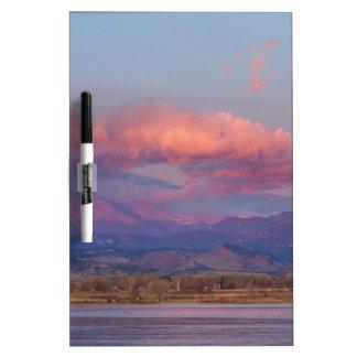 Colorado Front Range desea salida del sol máxima d Pizarras Blancas De Calidad