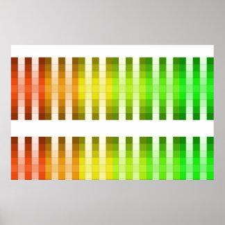 Coloree el acento largo 10 de la decoración del co
