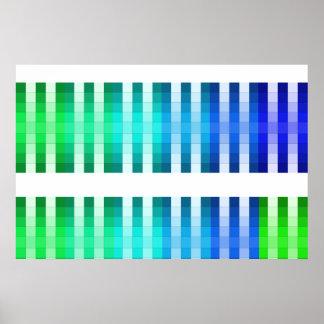 Coloree el acento largo 11 de la decoración del co