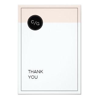 Coloree el boda moderno minimalista editable le invitación 8,9 x 12,7 cm