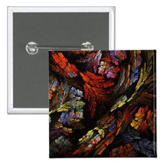 Coloree el botón del arte abstracto de la armonía