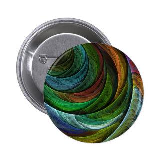Coloree el botón del arte abstracto de la gloria (