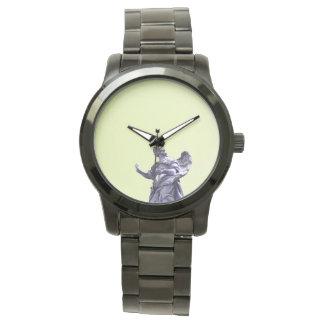 Coloree el efecto, fotografía simple filtrada, reloj de pulsera