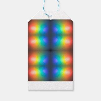 Coloree el extracto del caos etiquetas para regalos