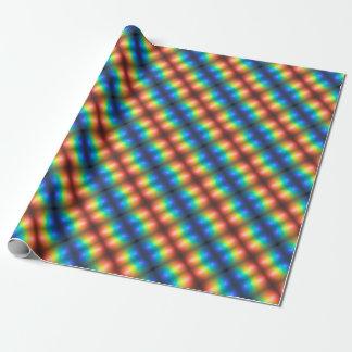 Coloree el extracto del caos papel de regalo