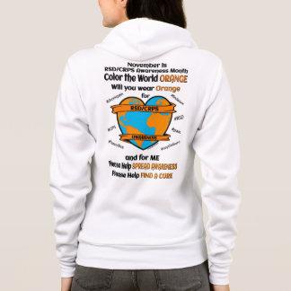 Coloree el naranja… RSD/CRPS del mundo Sudadera