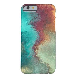 Coloree la caja artística del iPhone 6/6s de la Funda Barely There iPhone 6