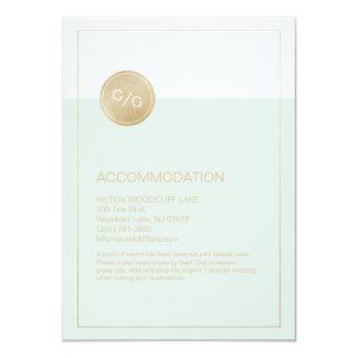 Coloree la tarjeta moderna editable del invitación 11,4 x 15,8 cm