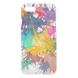 Coloree mi salpicadura de la vida + su fondo funda para iPhone 7