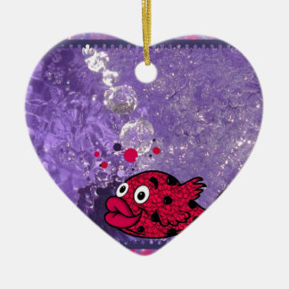 Coloree sus pescados del baño de los niños del mun ornamentos de reyes