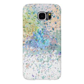 Colores abstractos modernos del diseñador funda samsung galaxy s6