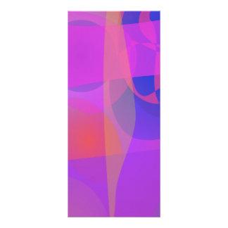 Colores abstractos tarjetas publicitarias a todo color