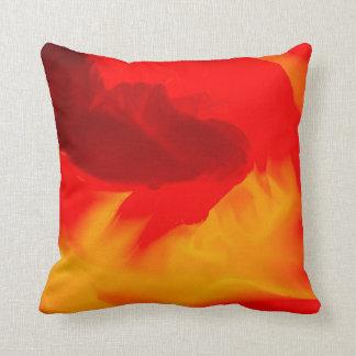 Colores calientes elegantes cojín decorativo