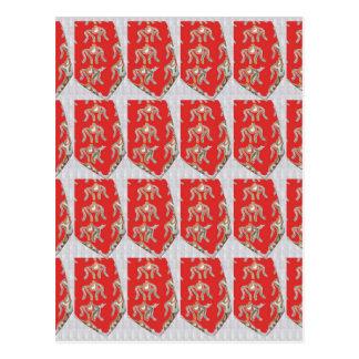 Colores chinos indios del boda de Goodluck de los Postal